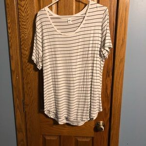 Stripped and soft tee!